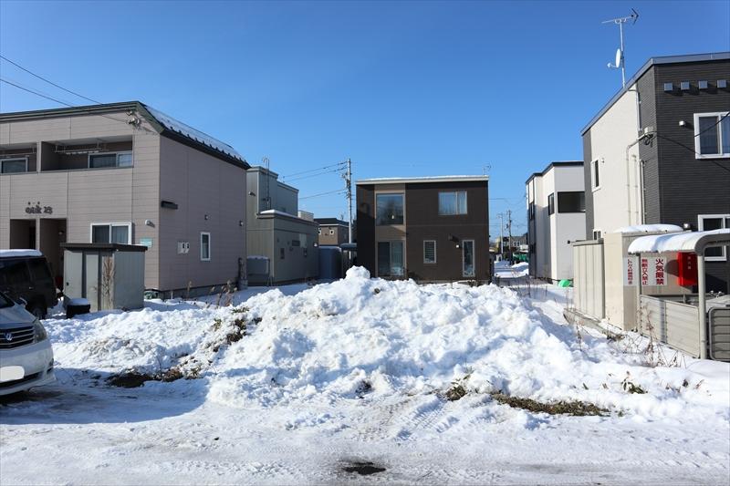 新川西2条3丁目土地 建築設計条件付きの土地売買